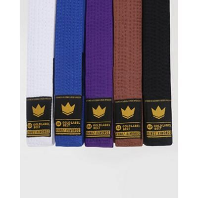 Kingz Deluxe Competition Belt Blue