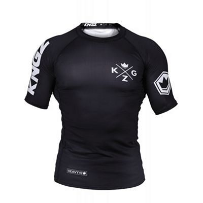 Kingz Ranked V3 S/S Rash Guard Black