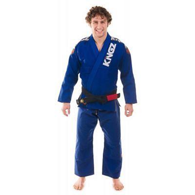 Kingz Ultralight Jiu Jitsu Kimono Blue