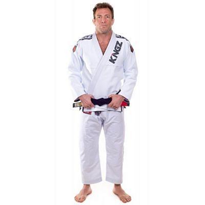 Kingz Ultralight Jiu Jitsu Kimono Blanco