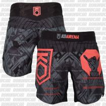 KO Arena Be Cool Fight Shorts Gris-Rojo