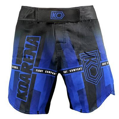 KOARENA Beron Fight Shorts Negro-Azul