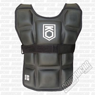 KO Arena Fitness Weighted Vest 10kg Preto