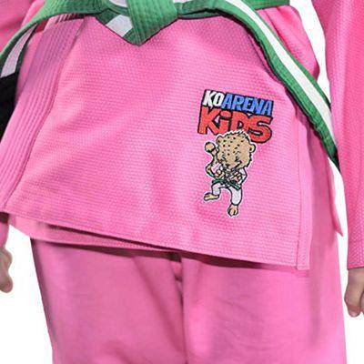 KO Arena Chita Kids BJJ Gi Rosa