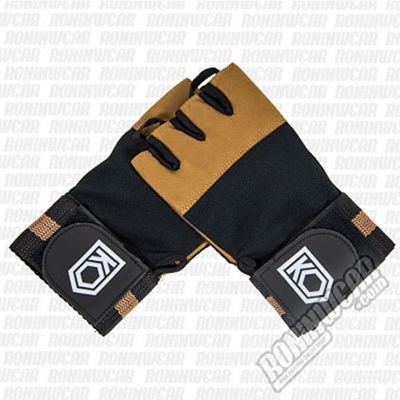 KO Arena Trainer Fitness Gloves Marron-Negro