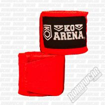 KO Arena Handwraps Color Series Rojo