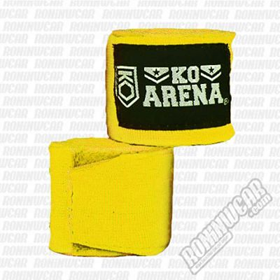 KOARENA Handwraps Color Series Yellow