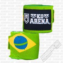 KO Arena Handwraps Flag Series Brazil