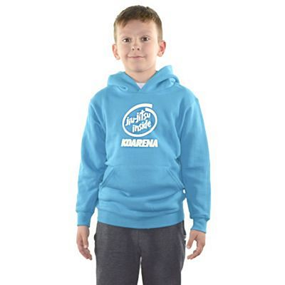 KOARENA Jiu Jitsu Inside Kids Hoodie Light Blue