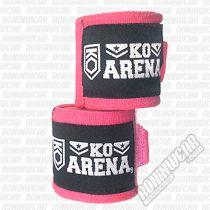 KO Arena Kids Handwraps 2,5m Rosa