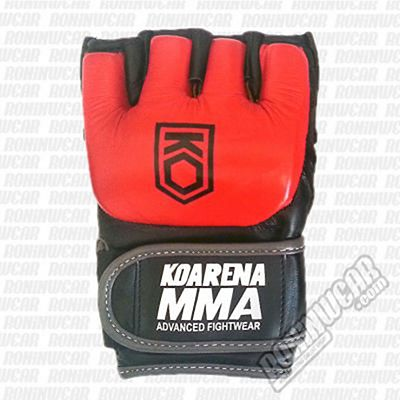 KOARENA Pro MMA Gloves Red