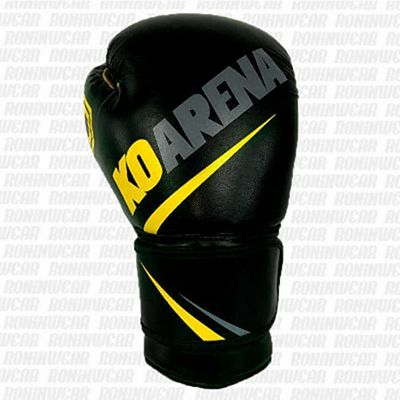 KOARENA SMR Black Team Boxing Gloves Negro