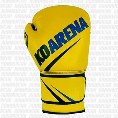 KOARENA SMR Yellow Team Boxing Gloves Gul