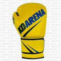KO Arena SMR Yellow Team Boxing Gloves Amarillo