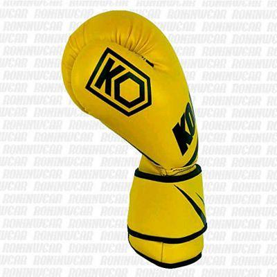 KOARENA SMR Yellow Team Boxing Gloves Yellow