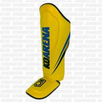 KO Arena SMR Yellow Team Shinguards Amarillo