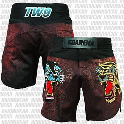 KOARENA TW9 Neo Old School Fight Shorts Negro