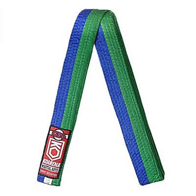 KOARENA Kids Martial Arts Belt Grön-Blå