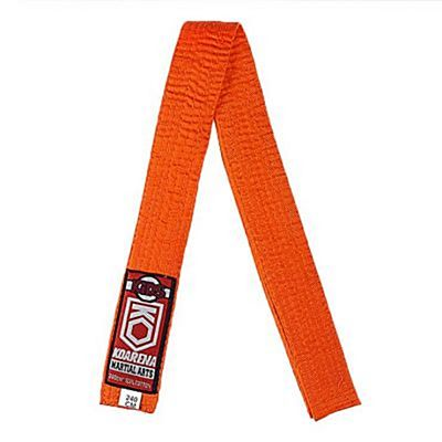 KOARENA Kids Martial Arts Belt Orange