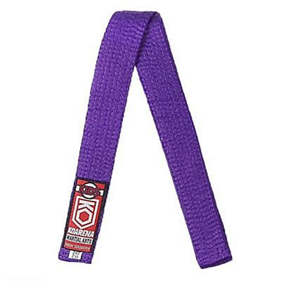KOARENA Kids Martial Arts Belt Lila