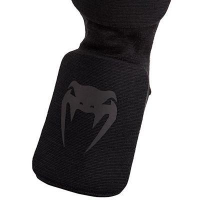 Venum Kontact Shinguard & Insteps Noir-Noir