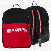 Koral Back Pack Silk Black-Red