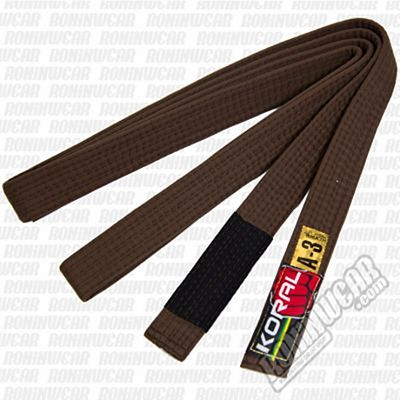 Koral BJJ Belt Brown