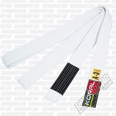 Koral BJJ Belt White