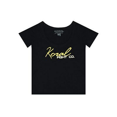 Koral Camiseta Fight Co. Harmonik Negro
