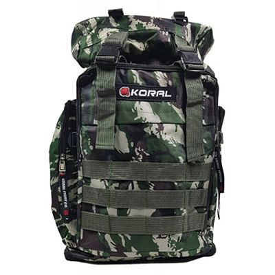 Koral Camo Army Backpack Verde