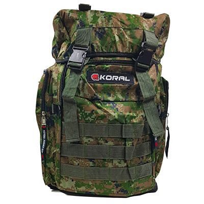 Koral Camo Desert Backpack Marron