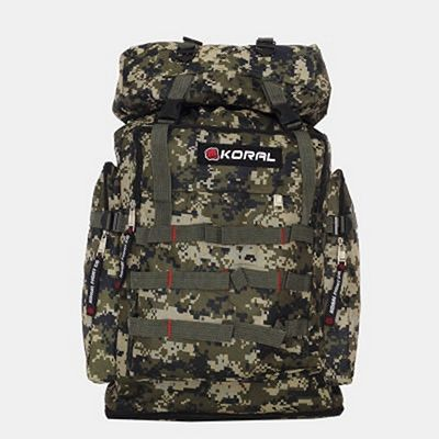 Koral Camo Forest Backpack Marron