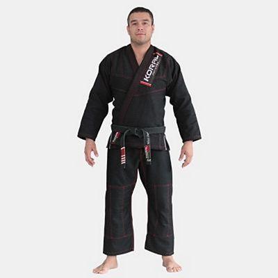 Koral Classic Slim Fit BJJ Kimono Fekete