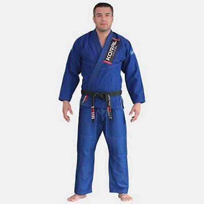 Koral Classic Slim Fit BJJ Kimono Azul