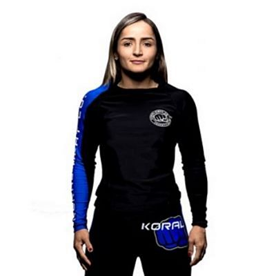 Koral Competition Team Rashguard L/S Nero-Blu