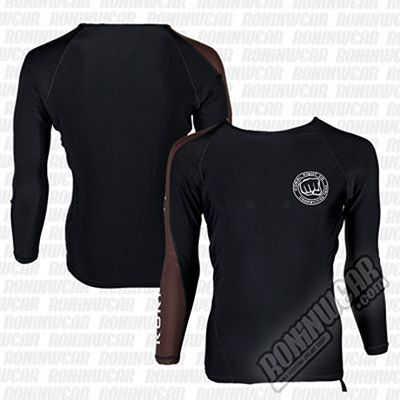 Koral Competition Team Rashguard L/S Preto-Marrom