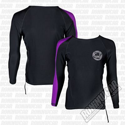 Koral Competition Team Rashguard L/S Black-Purple