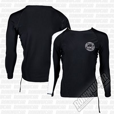 Koral Competition Team Rashguard L/S Preto-Branco