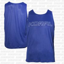 Koral Dry Ice Sleeveless T-shirt Azul Marino