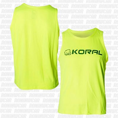 Koral Dry Ice Sleeveless T-shirt Giallo