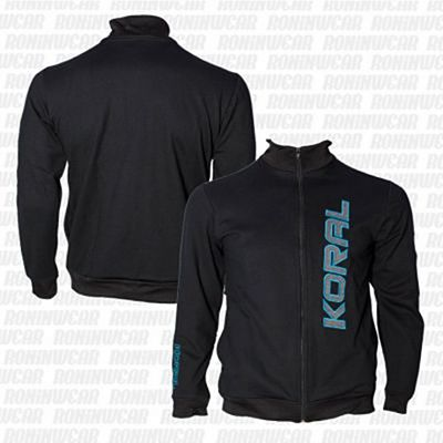 Koral Female Jacket Negro-Gris