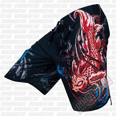 Koral Fight Life Shorts Negro-Rojo