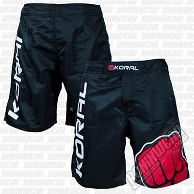 Koral Fight Pro Fight Shorts Nero