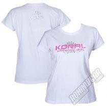 Koral Girls Flower White-Pink