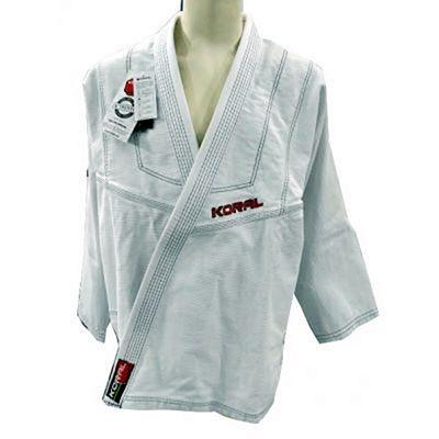 Koral Kimono Original Slim Blanco-Negro