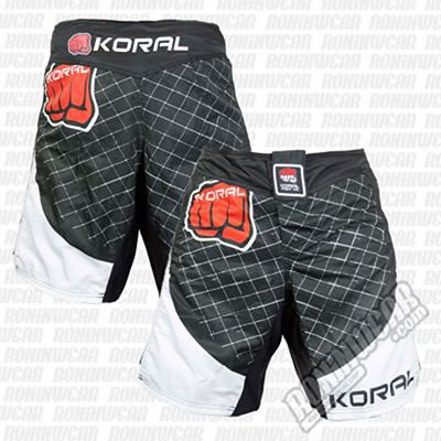 Koral MMA Cage Fight Shorts Negro