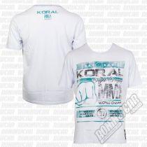 Koral MMA Champion T-shirt Weiß