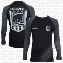 Koral Raglan Fighters Team ML Negro