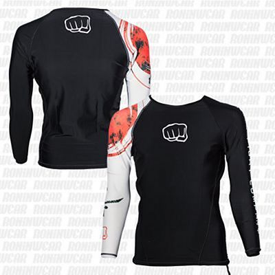 Koral Rashguard Country Japan Fekete