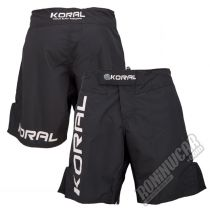 Koral Triple Fight Shorts Negro